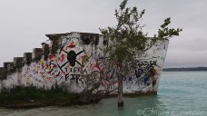 "Mexico ""Quintana Roo"" Bacalar lake lagoon"