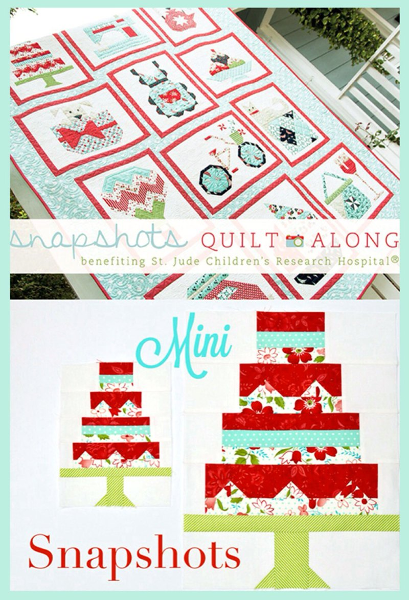 Snapshots Quilt-Along Mini Quilt │Out of the Blue Quilts