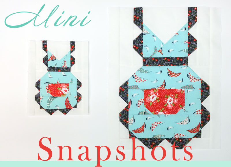 Snapshots Quilt-Along Mini/Full Quilt Block 5 │Out of the Blue Quilts