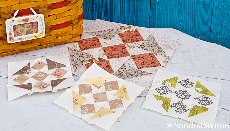 Crossroads Quilt Along Diamond Block │ Out of the Blue Quilts by Sondra Davison (3)