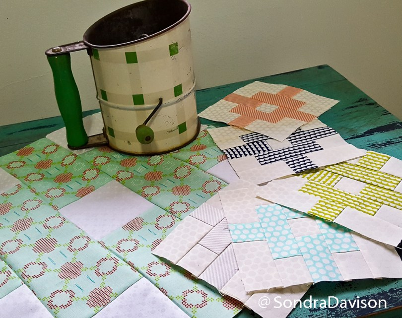 PWQAL Big Block 10 │ Out of the Blue Quilts by Sondra Davison