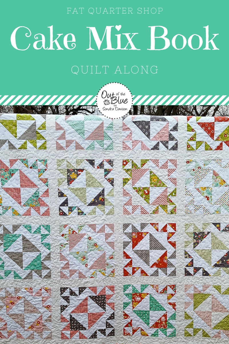 Cake Mix Book QAL │ Out of the Blue Quilts