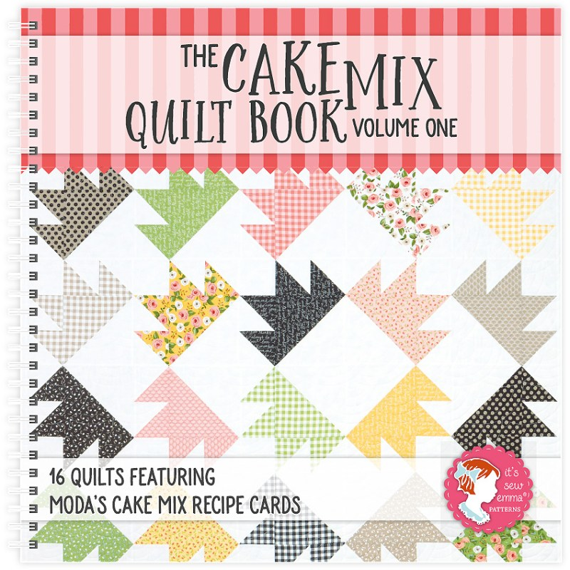 Cake Mix Taffy Quilt │Out of the Blue Quilts
