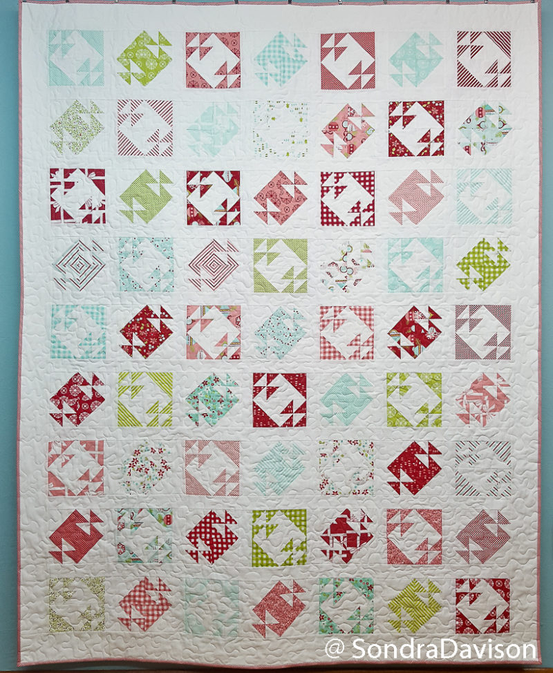 Cake Mix Monday Buttercream Quilt │ Out of the Blue Quilts