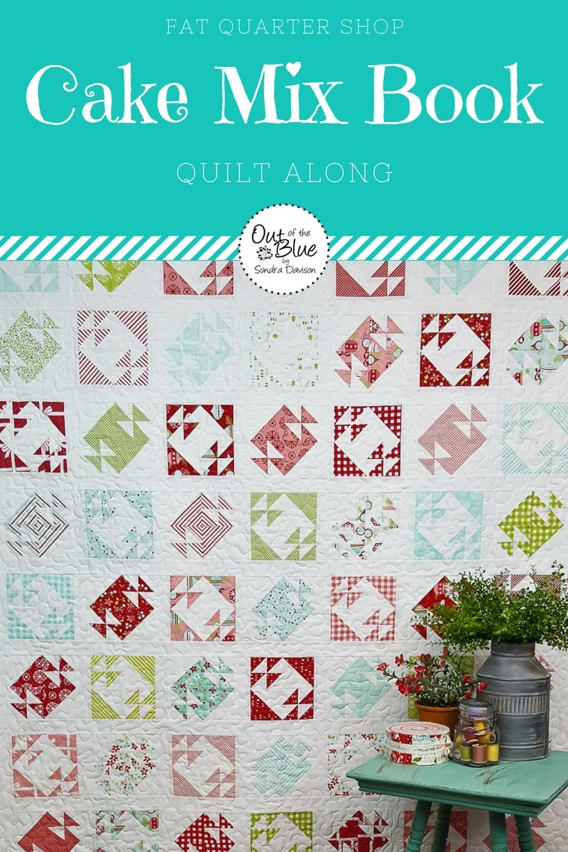 Cake Mix Quilt Along Buttercream