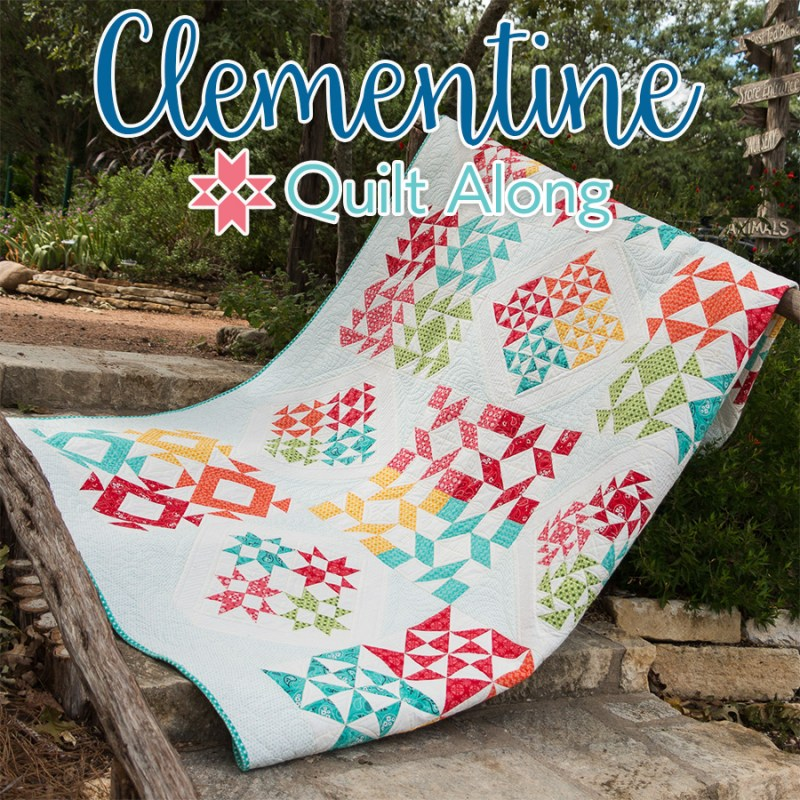 Clementine Quilt Along │ Out of the Blue Quilts