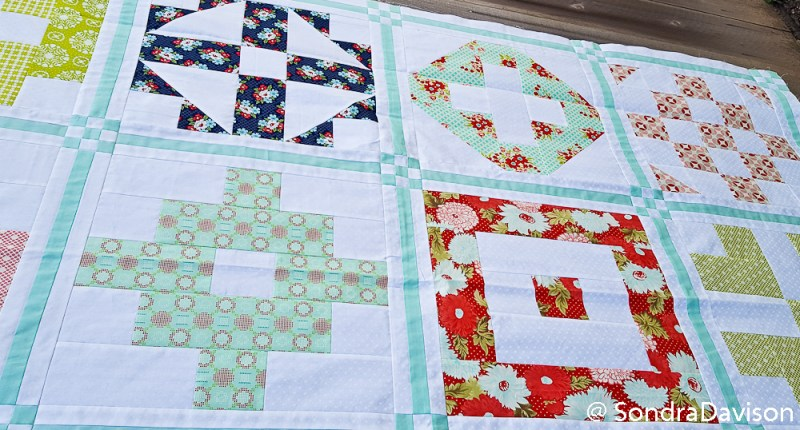 PWQAL Big Block Finishing and Backing │ Out of the Blue Quilts