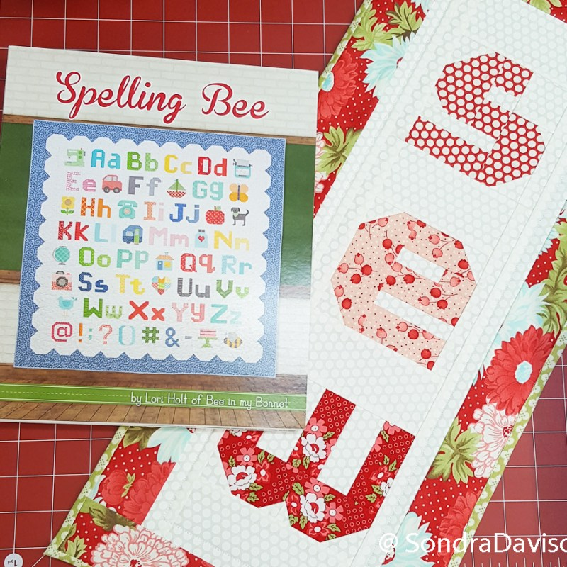 Spelling Bee Quilt Along Lower Case s │ Out of the Blue Quilts