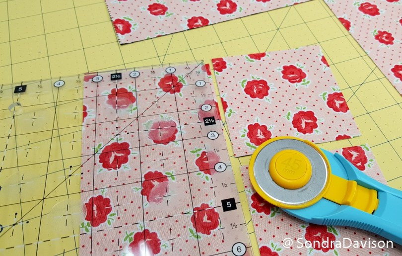 Pinning Perfect Points │ Out of the Blue Quilts