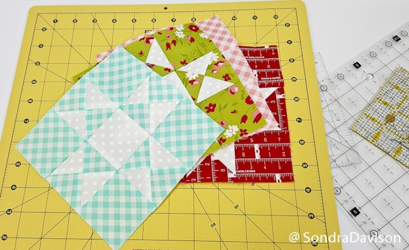 Threadology Block 1 │ Out of the Blue Quilts