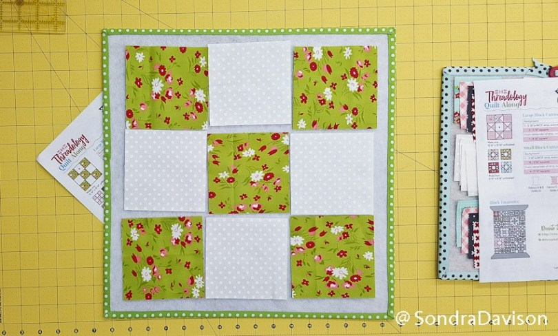 Threadology Block 2 │ Out of the Blue Quilts