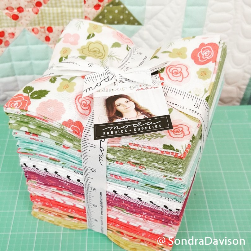 Lella Boutique Lollipop fat quarter bundle for Pineapple Day Quilt
