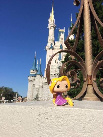 Part of Cinderella's castle.