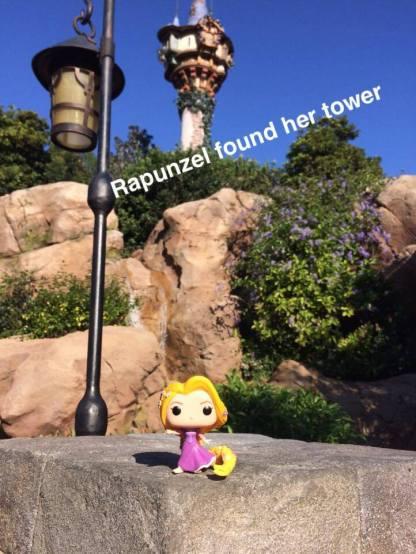 rapunzel found her tower
