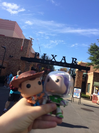 Pixar Studios...I don't know if they're ready for Woody and Buzz