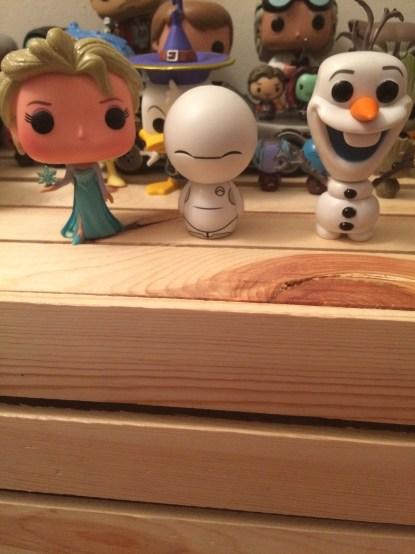Elsa, Baymax, & Olaf!
