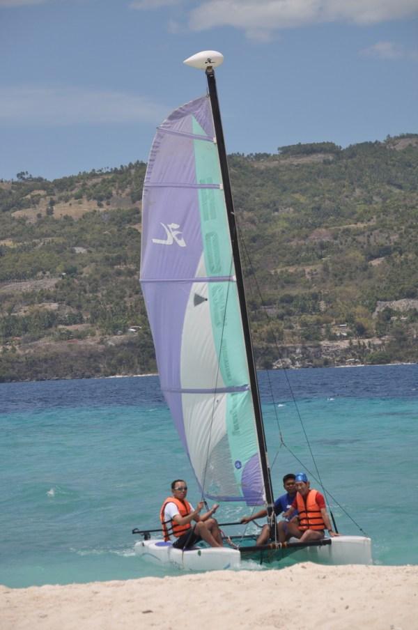 Windsurfing in Cebu