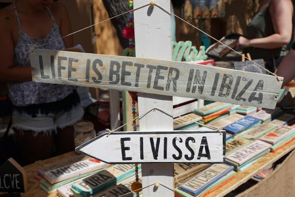 Souvenir in Ibiza