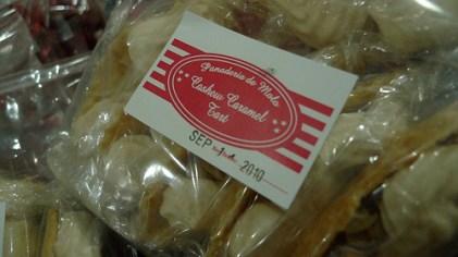 Cashew Caramel Tart from Panaderia de Molo