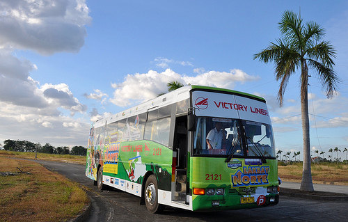 Lakbay Norte Victory Liner Bus aka The Freezer