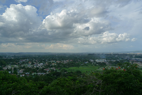Overlooking Davao City