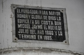 San Isidro Labrador Church Spanish Marker