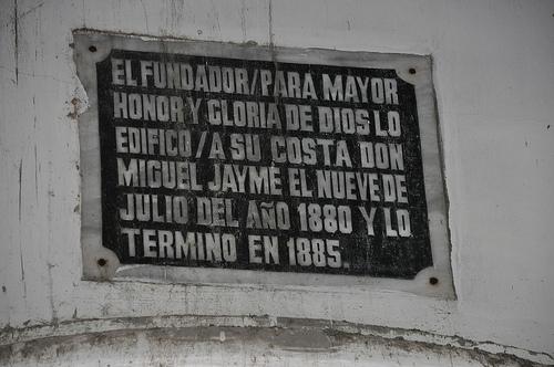 San Isidro Labrador Church Spanish Marker