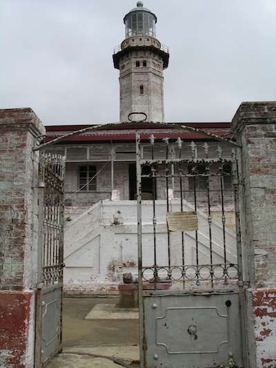 entrance to the lighthouse