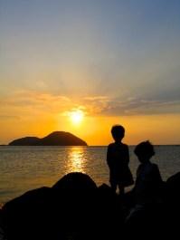 Sunset in Babuyan Island