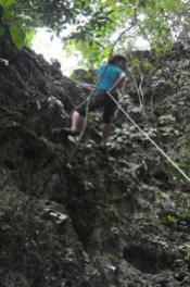 Trekking in Callao Cave