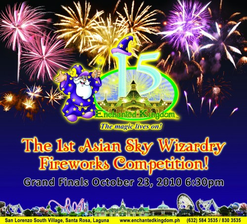 Enchanted Kingdom 1st Asian Sky Wizardry Fireworks Competition