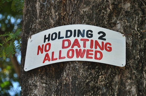 Dating Prohibited in the Temple