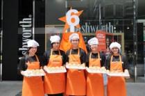 Jetstar Cupcake birthday Chefs serving treats