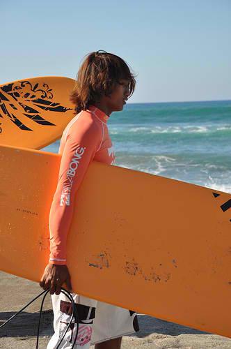 Pinoy Surfer in La Union