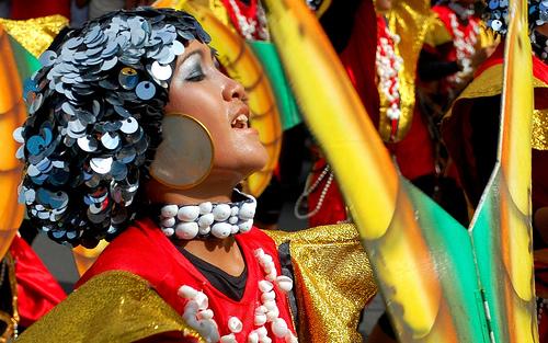 sinulog festival queen