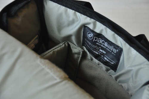 Fully padded main compartment