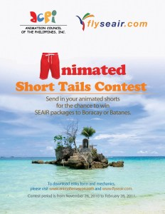 Animated Short Tails Contest