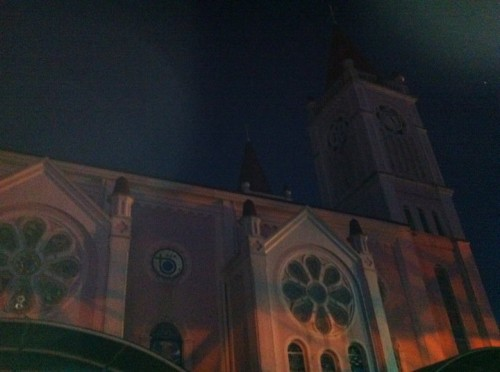 spooky baguio cathedral
