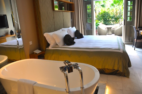 Deluxe Garden Room at Hotel Fort Canning