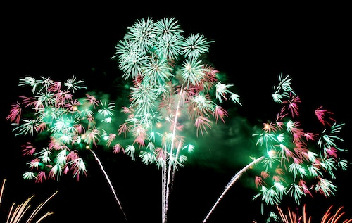 Japan Fireworks in Pyromusical 2011