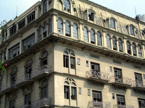 Luneta Hotel before the renovation