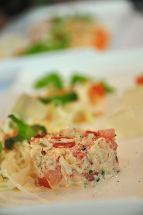 Burmese Tomato and Blue Swimmer Crab Salad
