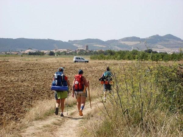 Pilgrims in Galicia