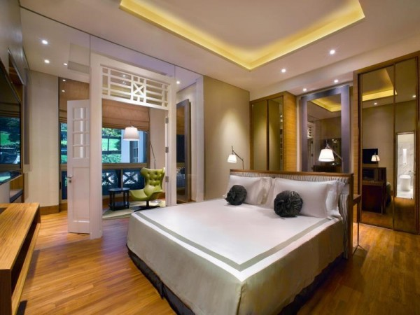 Rooms at Hotel Fort Canning