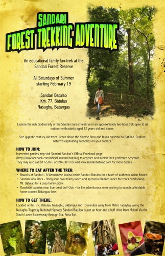 Sandari Forest Trekking Adventure for Summer