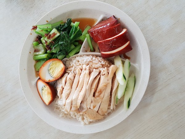 Chicken Rice in Singapore