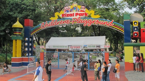 Rizal Park Childrens Playground