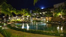 Boracay Garden Resort at Night