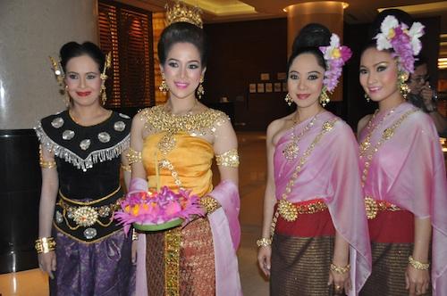 thailand ethnic dancers