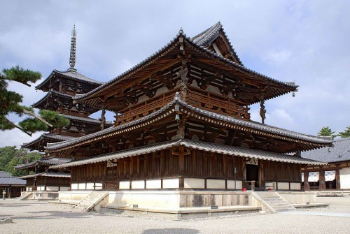 Golden Hall and Five-storied Pagoda